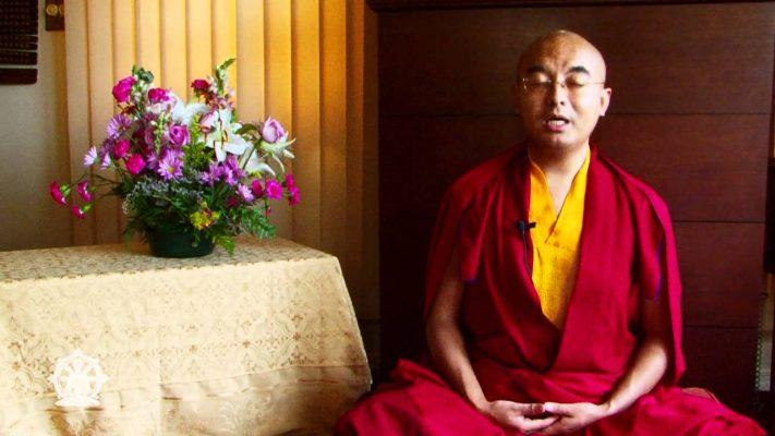 Tibetan Buddhist Meditation Master Yongey Mingyur Rinpoche